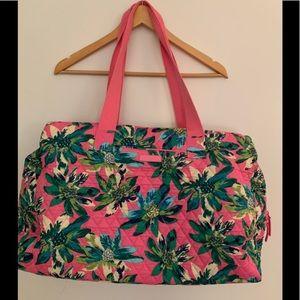 💕Vera Bradley 3 Compartment Travel Bag